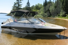 3-Bow Round Tube Bimini Top - Campion Chase 530