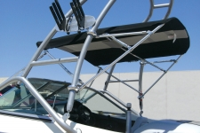 Universal Tower Top - Shown with Optional Front & Rear Braces and Stainless Fittings