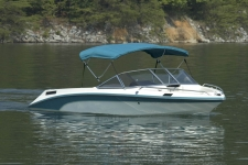 3-Bow Round Tube Bimini Top - 30in. Height - Mastercraft Boat