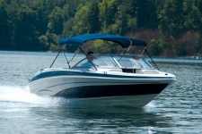 3-Bow Round Tube Bimini Top - 30in. Height - Tahoe Boat
