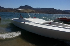 4-Bow Round Tube Bimini Top - Advantage Boat