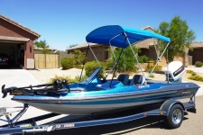 3-Bow Round Tube Bimini Top w/Optional Brace Kit - Stratos 264 FS
