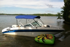 3-Bow Round Tube Bimini Top - 36