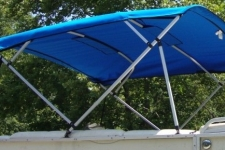 4-Bow Square Tube Pontoon Top