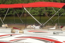 Dual 16' Square Tube Pontoon Top