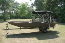 3-Bow Round Tube Bimini Top w/Optional Rear Brace Kit - G3 1544 Boat