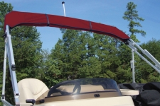 Square Tube Pontoon Replacement Storage Boot w/Running Light Cut-Out & Adjuster Straps