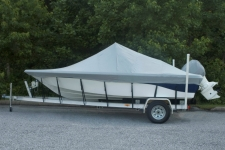 2005 Nautic Star 2200, Custom Fit, Poly-Guard, Haze Gray