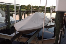1979 Glastron Carlson CVX 16 - Styled to Fit Cover for a Ski Boat w/Low Profile Windshield