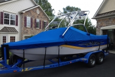 2006 Correct Craft Air Nautique 210 w/Flight Control Tower, Custom Fit Cover, Poly-Guard, Caribbean Blue