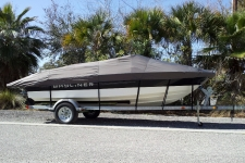 2013 Bayliner 195 w/Extended Swim Platform, Custom Fit, Poly-Guard, Black