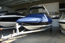 2013 Bayliner 175 BR w/Tower & Extended Swim Platform, Custom Fit, Poly-Guard, Caribbean Blue