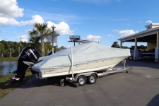 2014 Boston Whaler Dauntless 240 w/Bow Rails and Anchor Roller