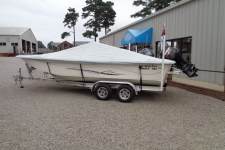 2014 Carolina Skiff 238 DLV - Custom Boat Cover