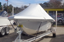 2014 Carolina Skiff Sea Chaser 21 Sea Skiff 21 - Custom Boat Cover