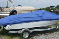 2015 Bayliner 175 w/ Extended Swim Platform, Custom Fit Boat Cover