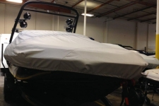 2015 Malibu 22 VLX W/ G3.2 Tower - Carver Custom Fit Boat Cover