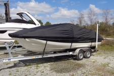 2016 Bayliner 210 Deck Boat, Custom Fit, Sun-DURA, Black