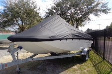 2016 Bayliner Element 18 CC, Custom Fit, Sun-DURA, Black