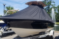 2018 Scout 195 Sportfish w / T-Top - Custom Fit Cover