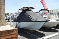 Boston Whaler - Custom Fit Under-the-T-Top Boat Cover - 2019 Boston Whaler 190 Montauk w/ Soft Top