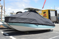 Boston Whaler - Custom Fit Under-the-T-Top Boat Cover - 2019 Boston Whaler 210 Dauntless w/ Hard Top