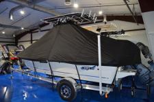 Bulls Bay - Custom Fit Under-the-T-Top Boat Cover - 2019 Bulls Bay 2000 CC w/ Soft Top