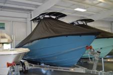 Bulls Bay - Custom Fit Under-the-T-Top Boat Cover - 2019 Bulls Bay 230 CC w/ Soft Top