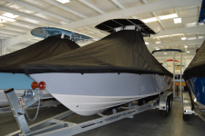 2019 Carolina Skiff Sea Chaser 23 LX w/ Soft Top - Custom Fit Storage Cover