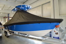 2019 Carolina Skiff Sea Chaser 26 LX w/ Soft Top - Custom Fit Storage Cover