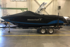 Mastercraft - Custom Fit Boat Cover w/ Tower Cut-Outs - 2019 Mastercraft X22 w/ Factory Tower w/ Swim Platform