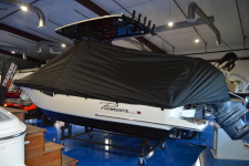 Pioneer - Custom Fit Under-the-T-Top Boat Cover - 2019 Pioneer 202 Islander w/  T-Top