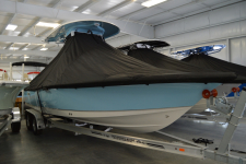 Sea Hunt - Custom Fit Under-the-T-Top Boat Cover - 2019 Sea Hunt BX 25 FS w/ T-Top