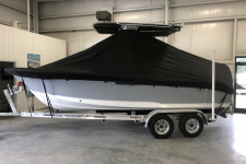 Sea Hunt - Custom Fit Under-the-T-Top Boat Cover - 2019 Sea Hunt Ultra 211