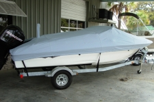 2010 Sea Ray 180, Custom Fit, Poly-Guard, Haze Gray