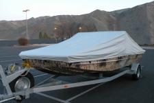 2011-2012 SJX 2170 River Boat, Custom Fit, Poly-Guard, Haze Gray