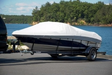 Tahoe 1900, V-Hull Runabout, Styled to Fit, Poly-Guard, Haze Gray