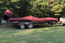 95-05 Bullet 21 DC or 21 XDC - Custom Boat Cover - Sun-DURA - Maroon