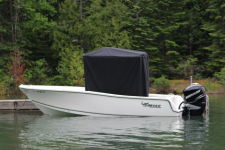 Universal T-Top Cover - Mako Boat