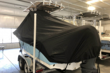 2018 Sea Hunt Ultra 225 - Under the T-Top Custom Fit Storage Cover - Back View