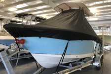 Sea Hunt - Custom Fit Under-the-T-Top Boat Cover - 2018 Sea Hunt Ultra 225