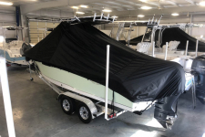 2018 Sea Hunt Ultra 234 - Under the T-Top  Custom Fit Storage Cover - Back View