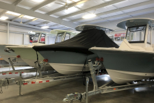 2018 Sea Hunt Ultra 255 - Under the T-Top Custom Fit Storage Cover