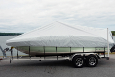 Flex Fit  Boat Cover for V-Hull Center Console Fishing Boats - 78011 - Poly-Flex