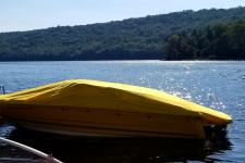Custom Boat Cover - 06-15 Monterey 180 FS or 184 FS - Sun-DURA - Yellow