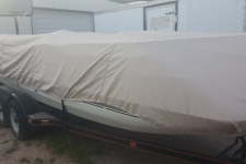 1994 Sylvan Space Ship 2001 - Styled to Fit Boat Cover for Deck Boats w/ Low Rails