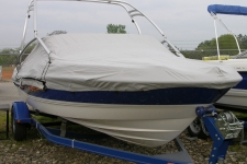 2007 Bayliner 205 XT w/Tower, Custom Fit, Poly-Guard, Haze Gray