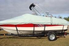 2012 Bayliner 185 w/Tower, Custom Fit, Poly-Guard, Haze Gray