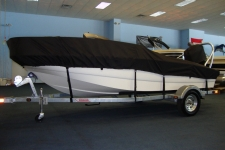 2012 Boston Whaler Super Sport 150 w/Ski Tow, Custom Fit, Poly-Guard, Black