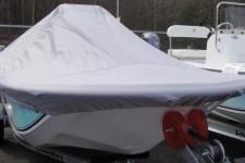 Carolina Skiff 16 JVX, Custom Fit, Poly-Guard, Haze Gray